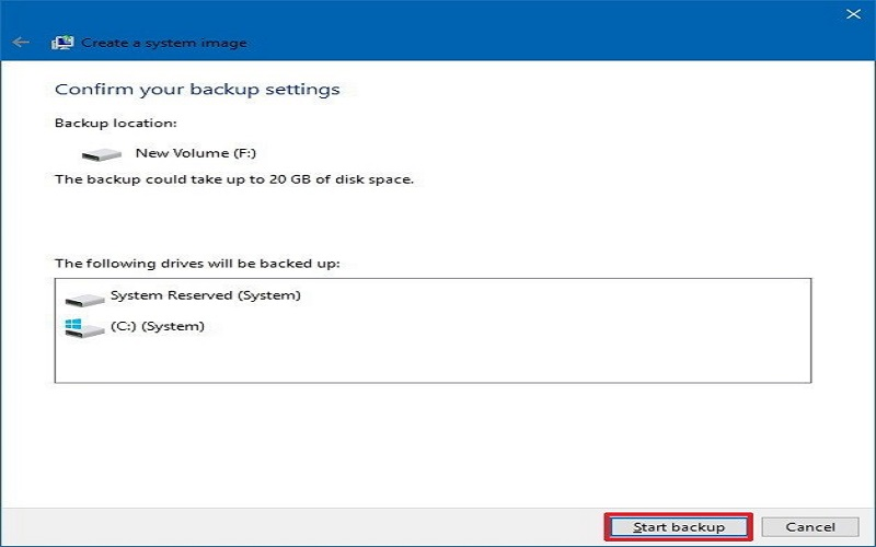 How To Backup Windows