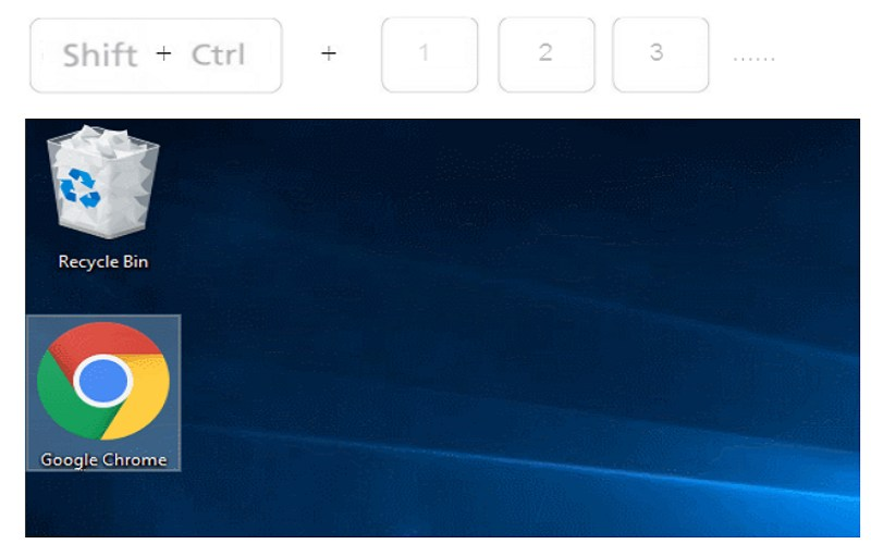 change desktop icon size windows 8