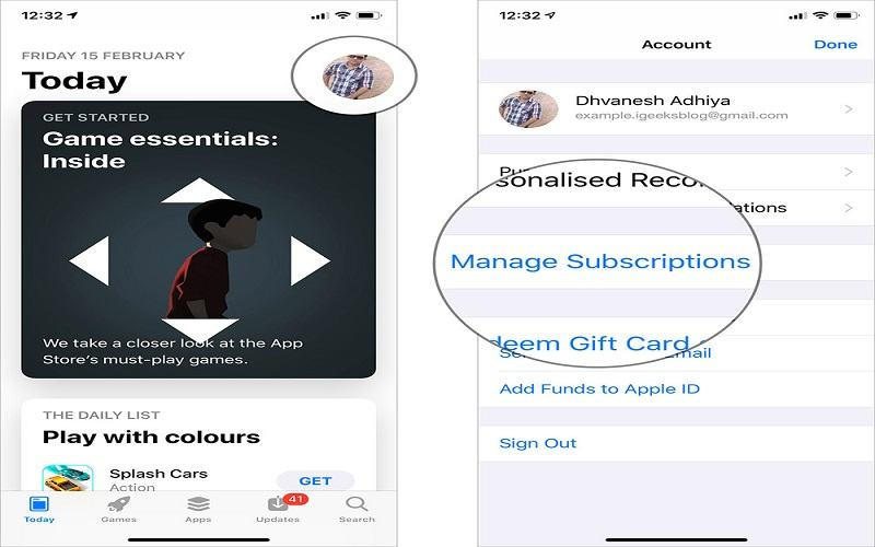 How To Cancel App Subscription In iPhone or iPad?