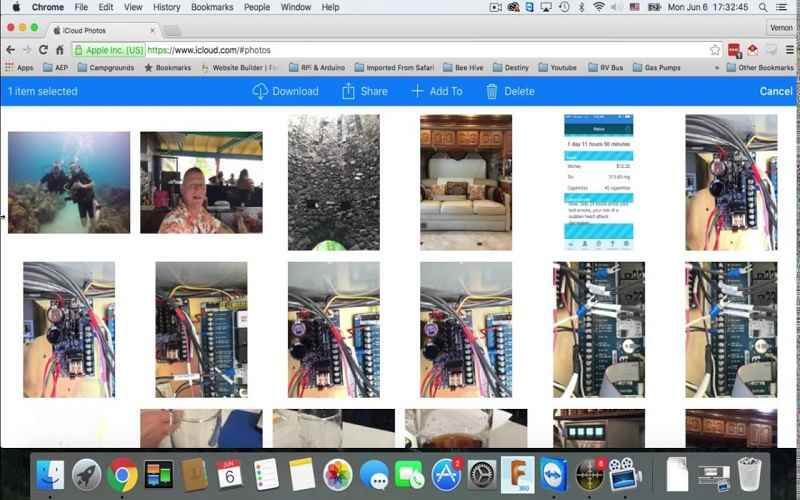 how do i access photos in icloud photo library