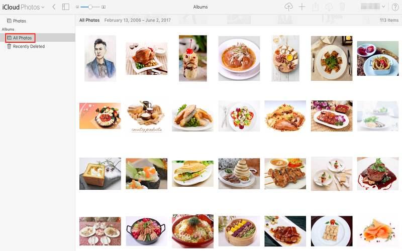 how do i see my icloud photos