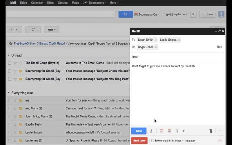 gmail chrome extension