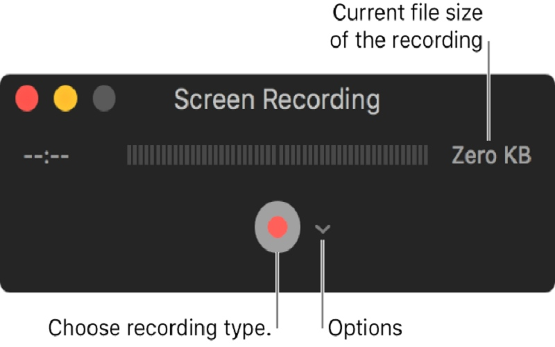 how to record screen and audio at the same time on mac