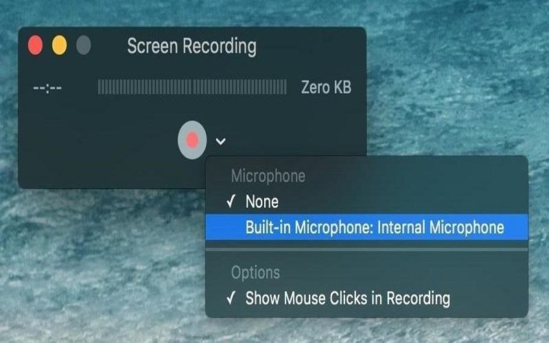 how to screen record on mac without quicktime