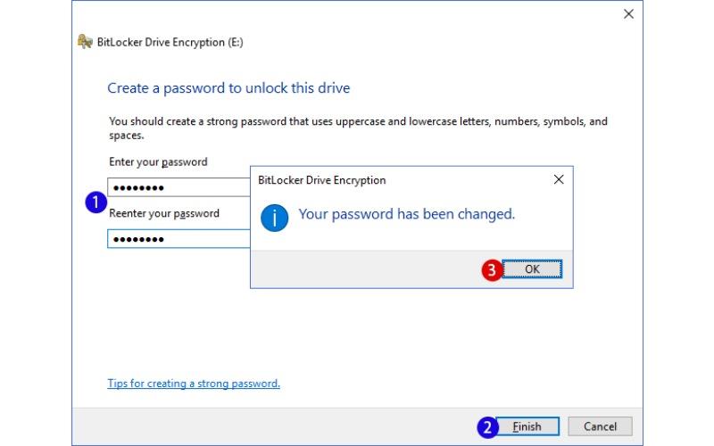 format bitlocker drive