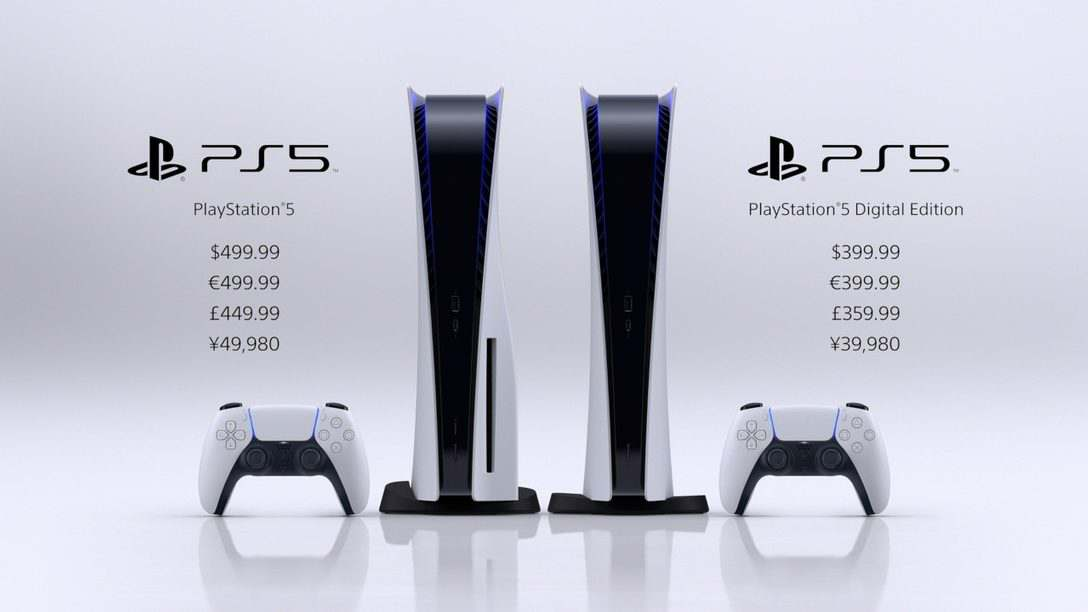 Difference between Play station 5 Standard and Digital Console