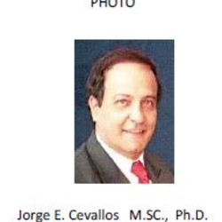Photo jorge e. cevallos m.sc.  ph.d.