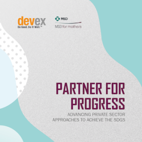 Partner for Progress: Advancing private sector approaches to achieve the SDGs
