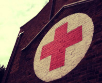 Red cross emblem
