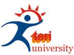 Teri university logo