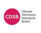 Logo climate disclosure standards board