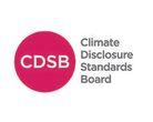 Logo climate disclosure standards board