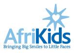Afrikids logo strap 2col rgb pos