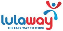 Lulaway logo white
