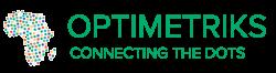Optimetriks logo tagline color copy