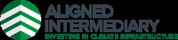 Aligned intermediary logo