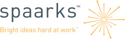Spaarks logo lockup pms positive hires