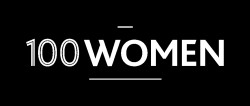 100women logo blackbckgd whitewriting8