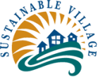 Sustainable village logo