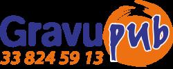 Logo gravupub