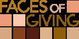Faces of giving logo
