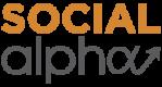 Social alpha logo
