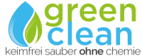 Green clean logo