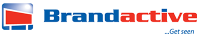Brand active logo