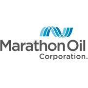 Marathon oil logo detail