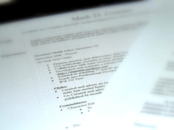 the dreaded 2 page cv for seasoned aid workers devex