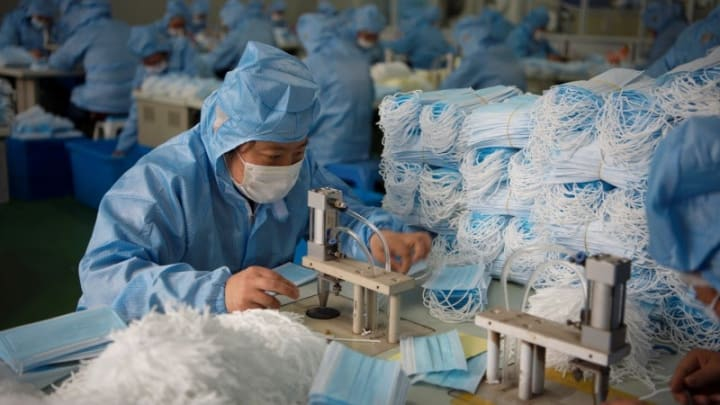 Image result for china factories covid