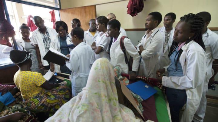 Despite efforts to train health professionals, Malawi's
