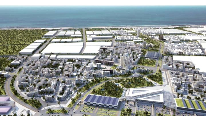 An Inside Look Into Africas First Eco City Zenata Morocco Devex