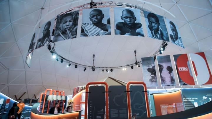 Exhibition aims to champion disease eradication as it