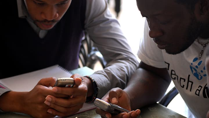 As the youth across Africa increasingly utilize new technology, UNFPA  harness the ingenuity of the young to develop mobile solutions.
