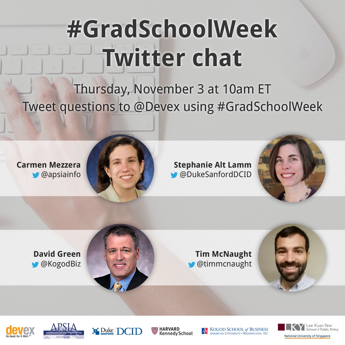 Grad school week graphics tw chat  1200x1200 v5