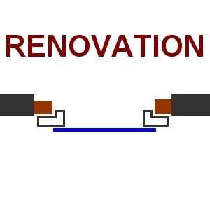 pin pose en renovation on pinterest. Black Bedroom Furniture Sets. Home Design Ideas