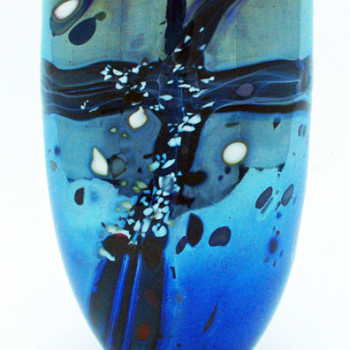 Lustre Rocks Open Vase