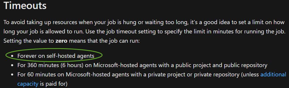 Microsoft Docs Page