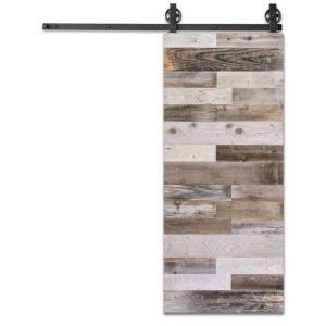 Reclaimed Panel Barnwood Door