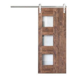 Midcentury 3-Panel Barn Door