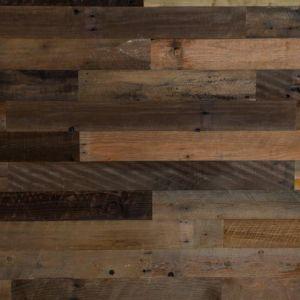 Umber Brown Wood Wall Panels