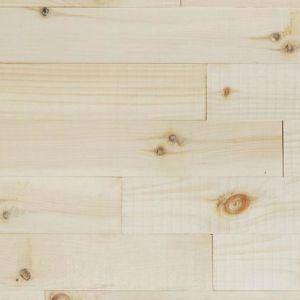 Raw Pine Wood Wall Panels