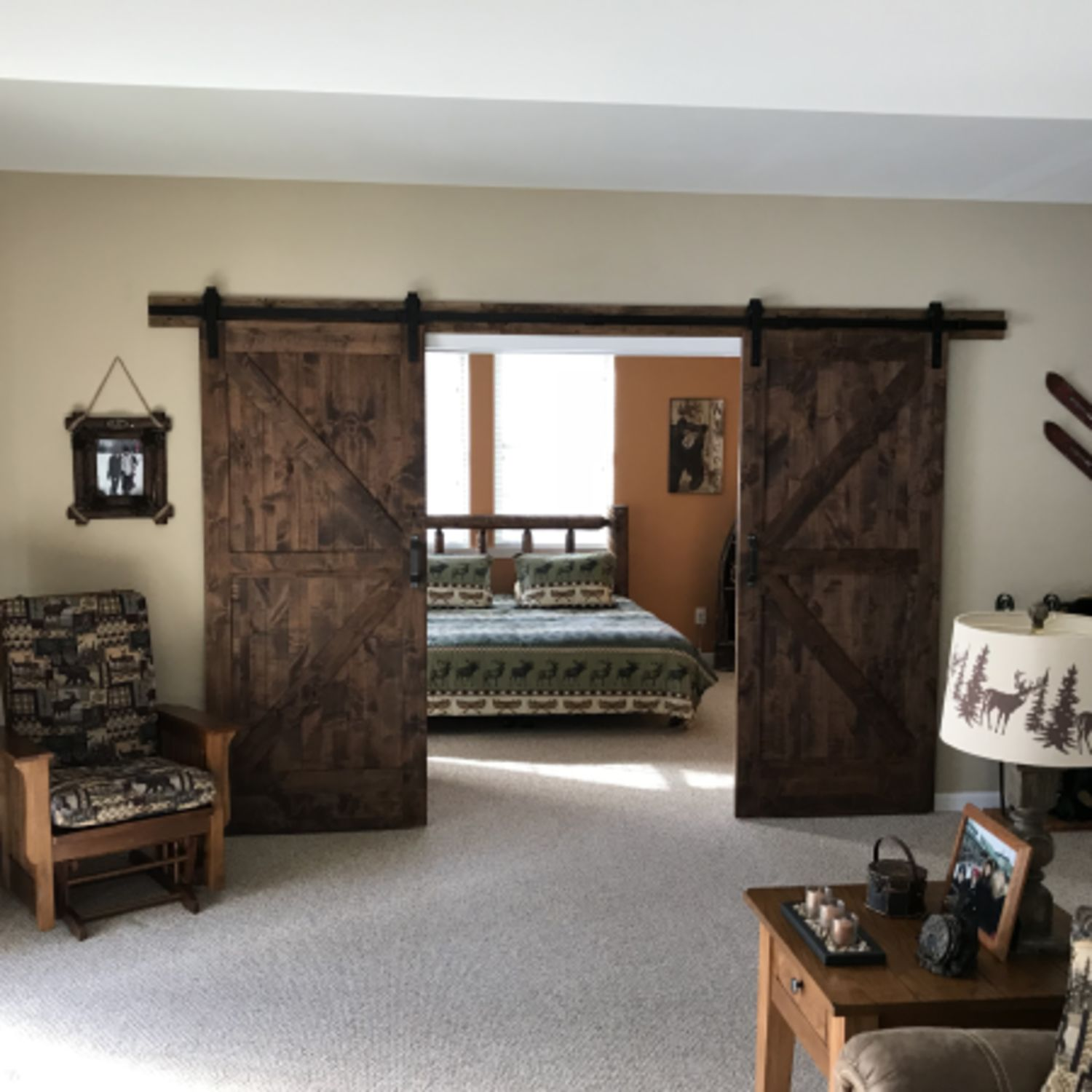 Barn Door Bedroom Inspiration