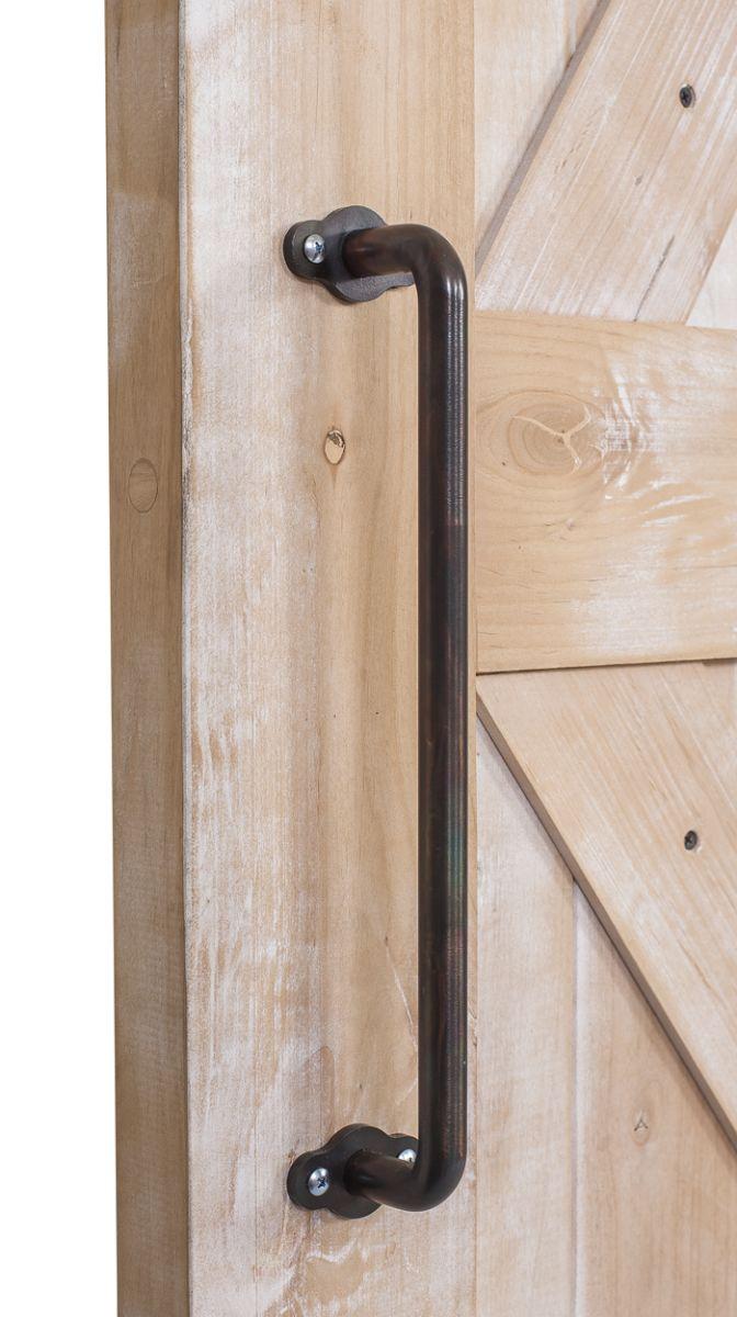Century Cylindrical Barn Door Handle Rustica Hardware