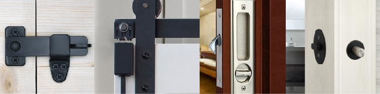 decorative barn door locks