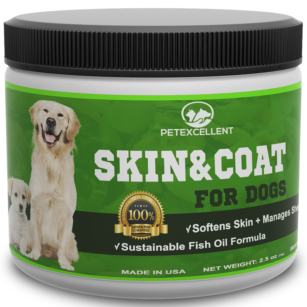 Skin & Coat Health Support for Dogs