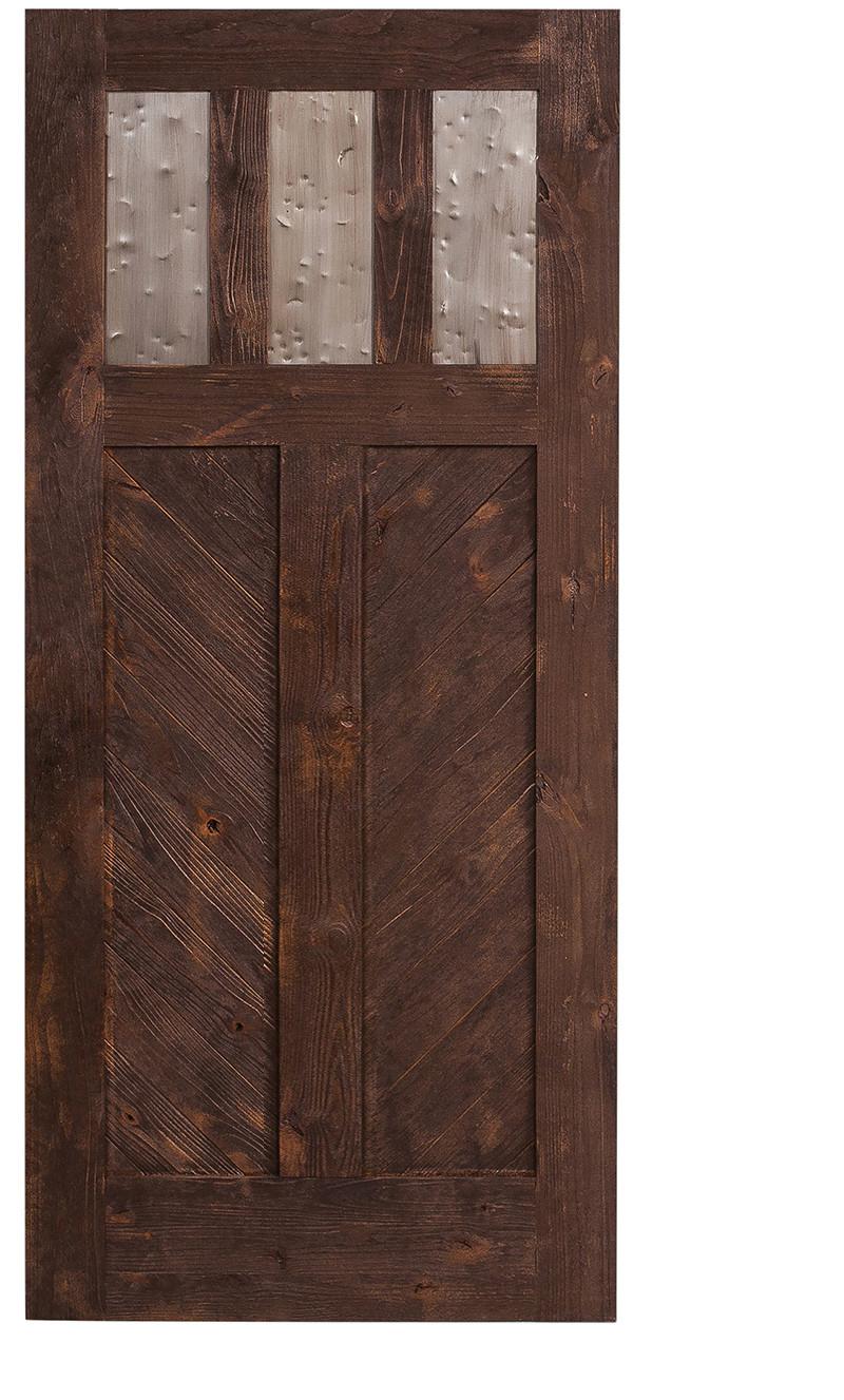 Chevron Barn Door Pattern Hinged Barn Doors Rustica