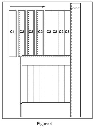 2 panel barn door install step 4