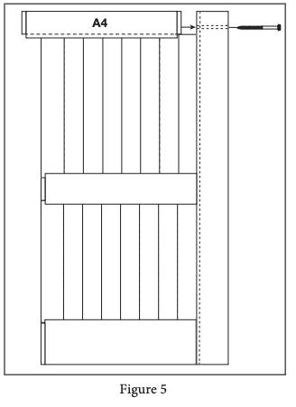 2 panel barn door install step 5